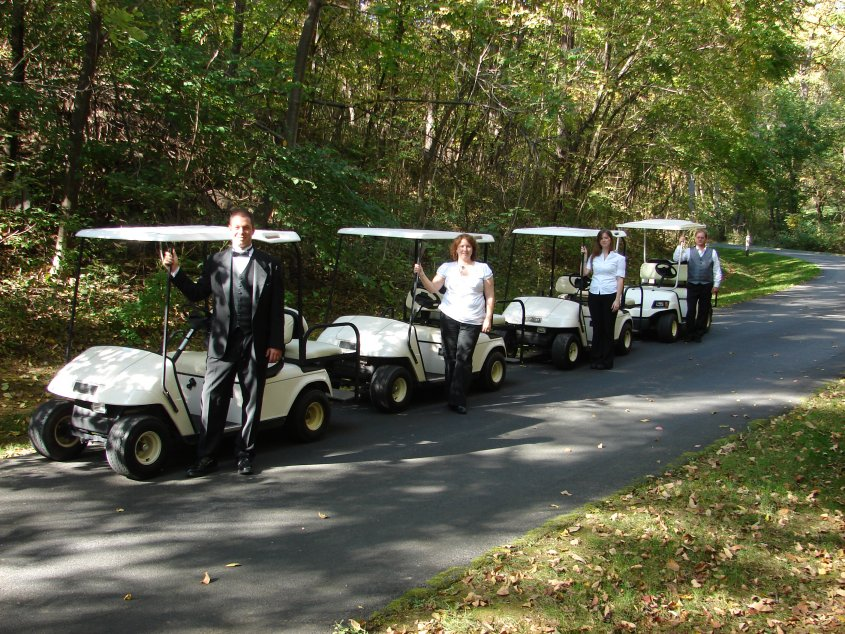 Golf Carts with Drivers